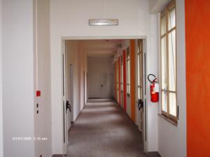 Casa di riposo di Vercelli - Decorazione muri interni